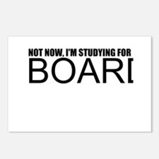 Not Now, I'm Studying For Boards Postcards (Packag