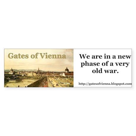 Gates of Vienna Bumper Sticker