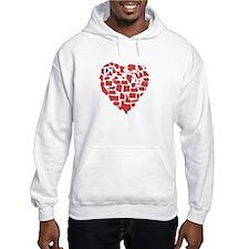 Maine Heart Hoodie