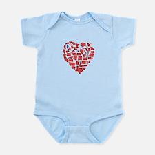 Maine Heart Infant Bodysuit