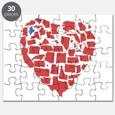 Maine Heart Puzzle