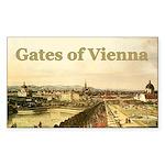 Gates of Vienna Rectangle Sticker