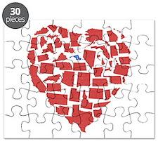 Maryland Heart Puzzle