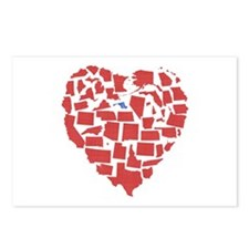 Maryland Heart Postcards (Package of 8)