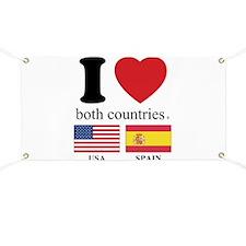 USA-SPAIN Banner