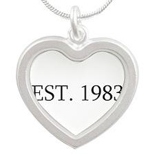 Est 1983 Necklaces