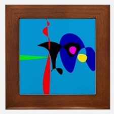 Abstract Expressionism Simple Digital Art Framed T