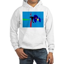 Abstract Expressionism Simple Digital Art Hoodie