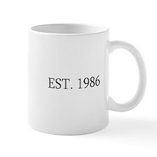 Est 1986 Mugs