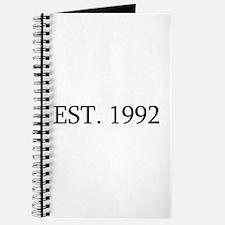 Est 1992 Journal