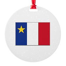 Flag of Acadia Ornament