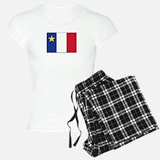 Flag of Acadia Pajamas
