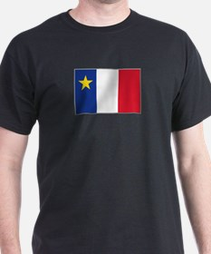 Flag of Acadia T-Shirt