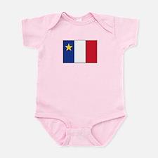 Flag of Acadia Infant Bodysuit