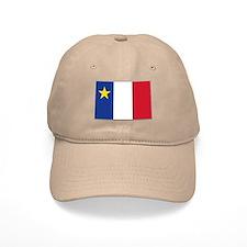 Flag of Acadia Baseball Cap