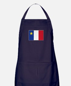 Flag of Acadia Apron (dark)
