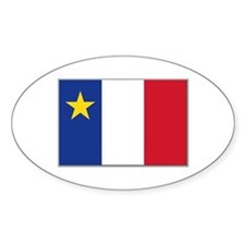 Flag of Acadia Decal