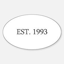 Est 1993 Decal