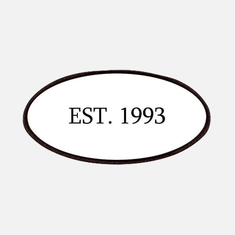 Est 1993 Patches