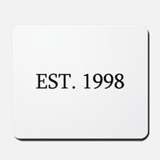 Est 1998 Mousepad