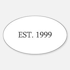 Est 1999 Decal