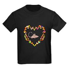 Fancy Heart Rat T