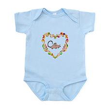 Fancy Heart Rat Infant Bodysuit