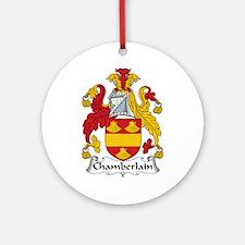 Chamberlain Ornament (Round)