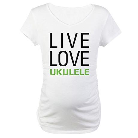 Ukulele Maternity T-Shirt