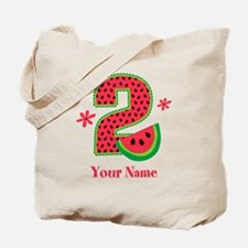 Watermelon 2nd Birthday Tote Bag