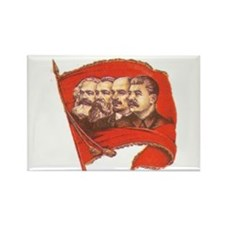 Glorious Leaders Rectangle Magnet