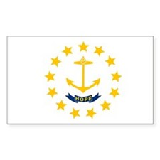 Rhode Island State Flag Decal