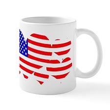 Flag hearts Mugs