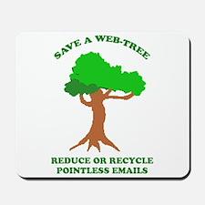 Save a Web-Tree Mousepad