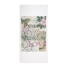 Vintage Peace Home Beautiful Love Designer Collage