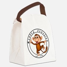 Monkey Junction Canvas Lunch Bag
