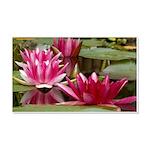 Lotus Flower Blossom 20x12 Wall Decal