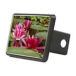 Lotus Flower Blossom Rectangular Hitch Cover