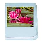 Lotus Flower Blossom baby blanket