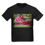 Lotus Flower Blossom Kids Dark T-Shirt
