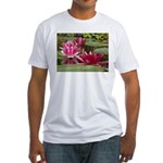 Lotus Flower Blossom Fitted T-Shirt