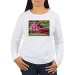 Lotus Flower Blossom Women's Long Sleeve T-Shirt
