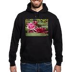 Lotus Flower Blossom Hoodie (dark)
