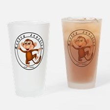 Monkey Junction Drinking Glass