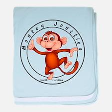 Monkey Junction baby blanket