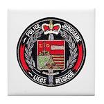 Belgian Police Tile Coaster