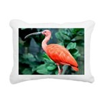 Stunning Scarlet Ibis Rectangular Canvas Pillow