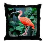 Stunning Scarlet Ibis Throw Pillow