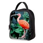 Stunning Scarlet Ibis Neoprene Lunch Bag