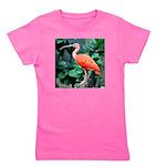 Stunning Scarlet Ibis Girl's Tee